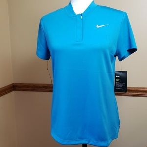 NIKE Women's Dry Fit Golf Polo Short Sleeve